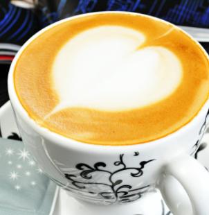 由心咖啡爱心