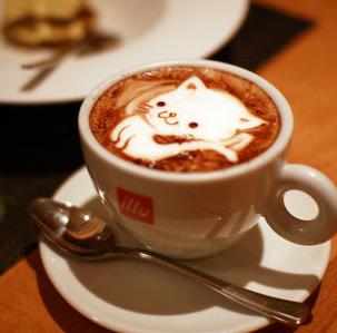 由心咖啡猫咪
