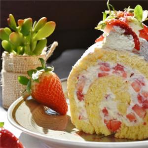 黛慕蛋糕草莓