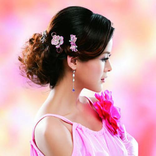 流行美化妝品蝴蝶