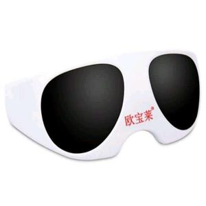 歐寶萊眼鏡黑色