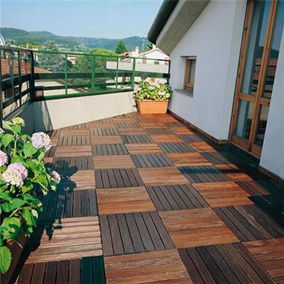 LAK欧洲进口木地板展示