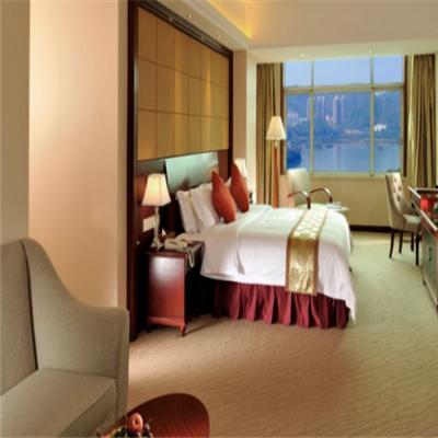 納也納酒店臥室