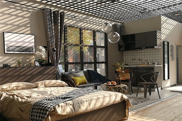 貝客公寓床鋪