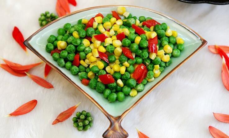 宝香厨素食餐厅玉米豌豆