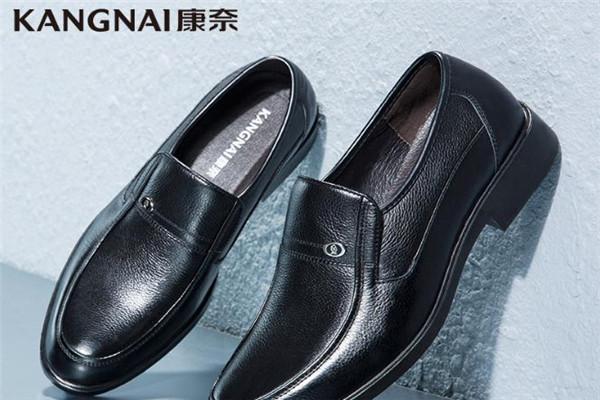 康奈男鞋黑色