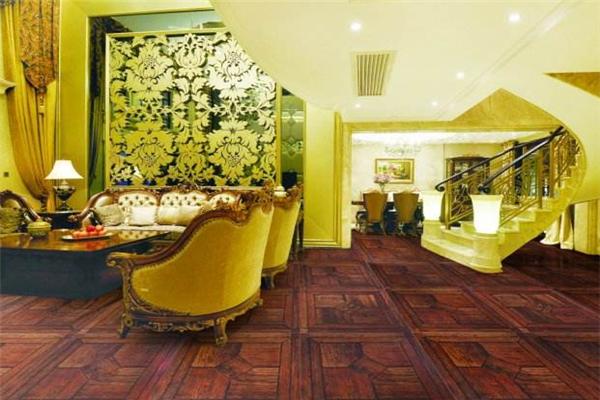 安娜贝尔硅藻地板中式