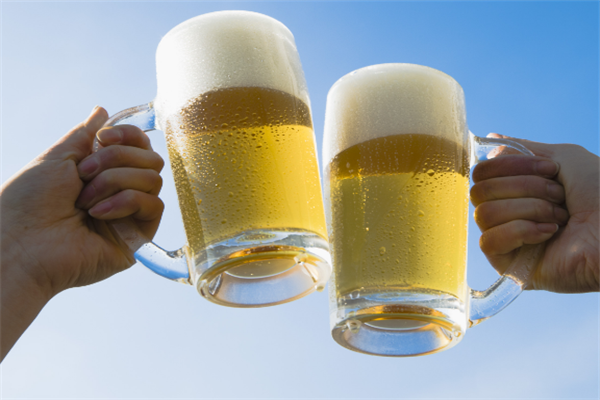 奥贝啤酒宣传