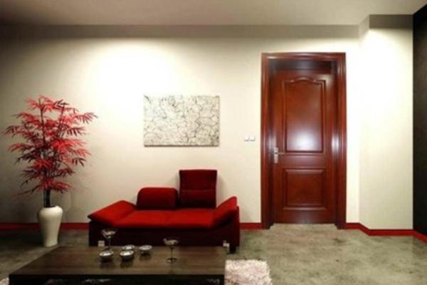 豪雅徽韵木门柚木室内室内实木复合门
