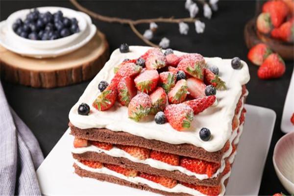 黛慕蛋糕雙層