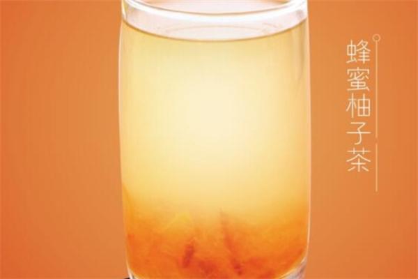 城鐵港飲蜂蜜柚子茶