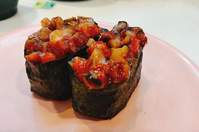 争鲜章鱼寿司