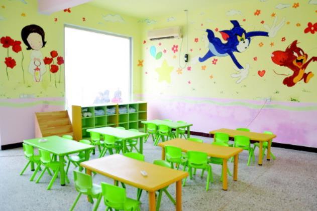 七色光幼儿园教室图