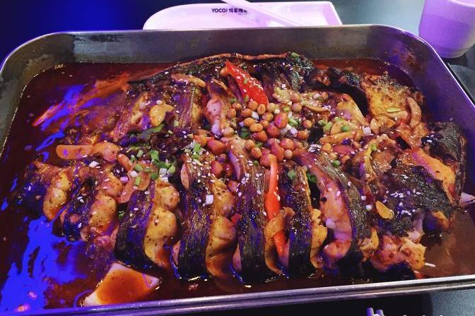 悅客豆豉烤魚