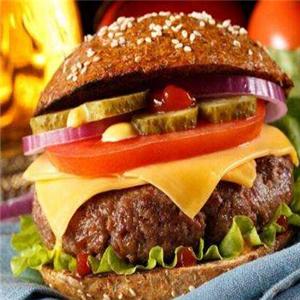 卡羅仕漢堡招牌