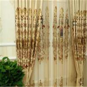 金剪子窗帘金丝
