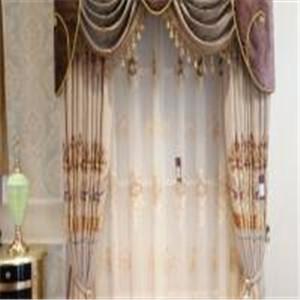 金剪子窗帘白色