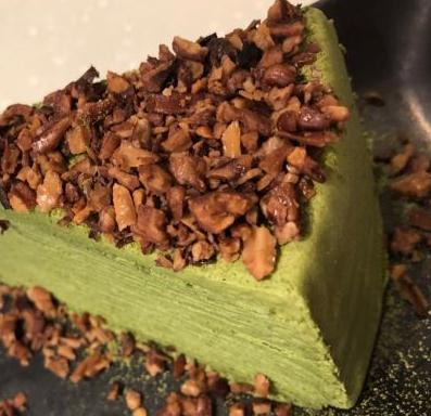 三北里日式抹茶甜品千層蛋糕