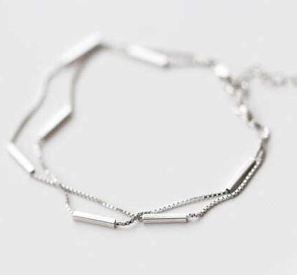 七巧銀飾手鏈
