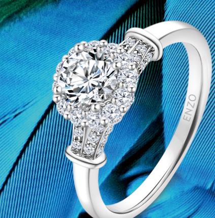 enzo鉆戒排名白金鉆石戒指