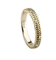 德米亞尼Damiani鉆石鑲嵌指環