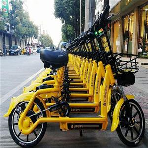 松果共享电单车环保