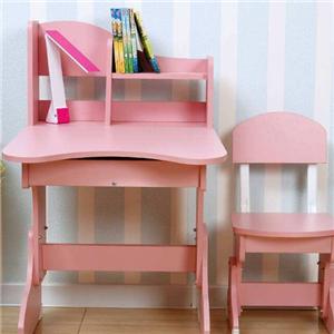 享學學習桌椅粉色