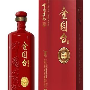 金園臺酒業紅色