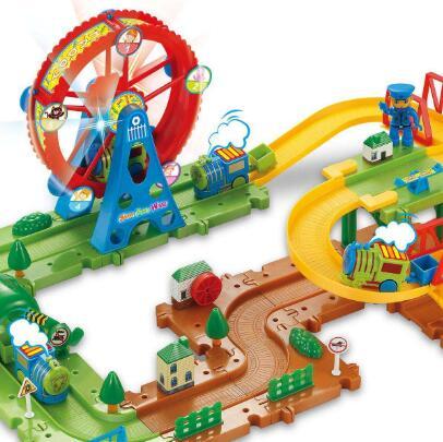 启蒙玩具火车