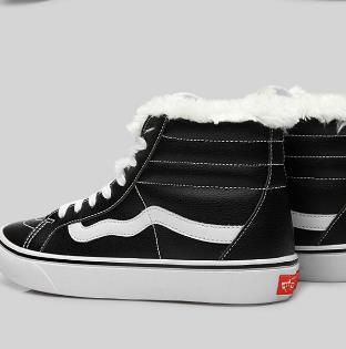 万斯帆布鞋冬款