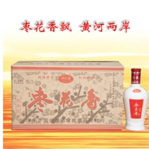 枣花香白酒包装