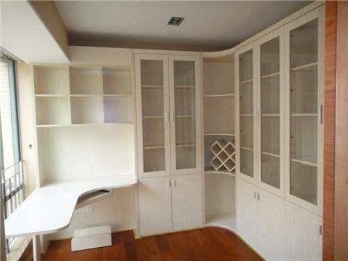 法尔诺全屋定制家具转角书柜