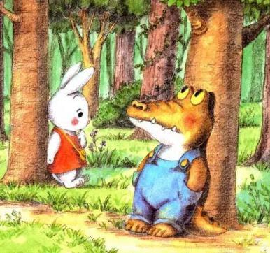 亦启读绘本小兔