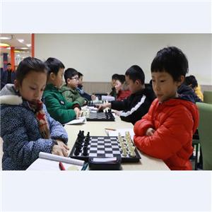 新蕾国际象棋俱乐部招牌