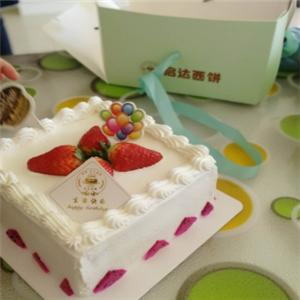 启达西饼生日蛋糕
