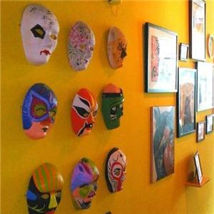 新艺合美术培训中心面具