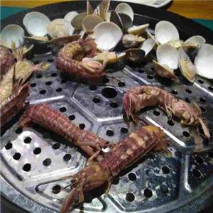 银龙海鲜超市贝壳