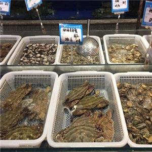 银龙海鲜超市一盆