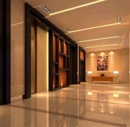 天和酒店走廊