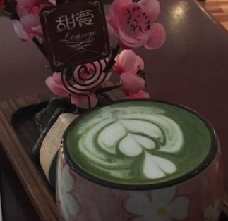 甜愛咖啡抹茶