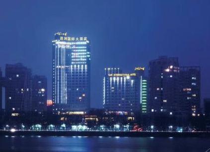 九江远洲国际大酒店夜景