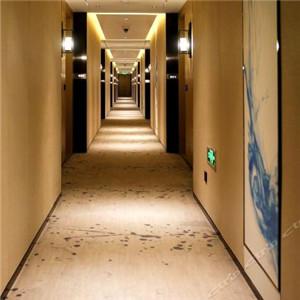 云和夜泊酒店走廊