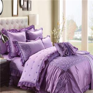依思妮家紡紫色