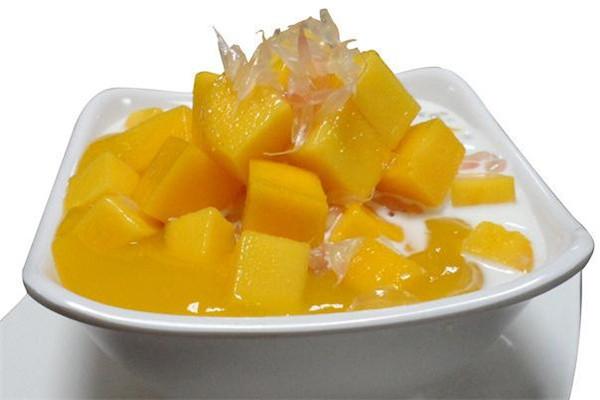 冰雪情缘甜品芒果