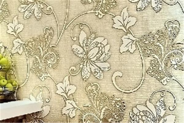 金剪子窗帘花纹