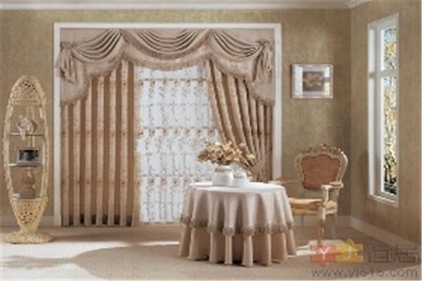 金剪子窗帘效果