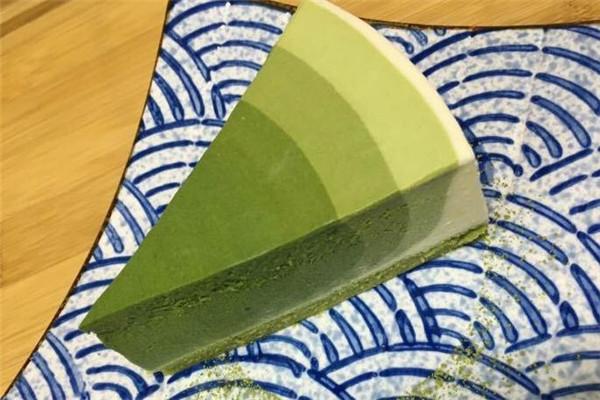三北里日式抹茶甜品果凍蛋糕