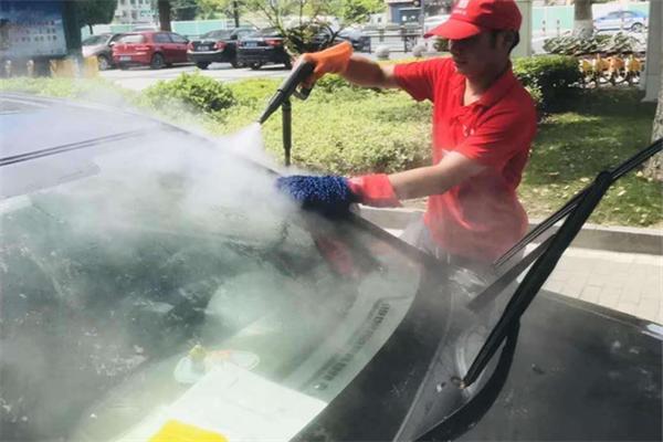 潔優移動上門蒸汽洗車專業