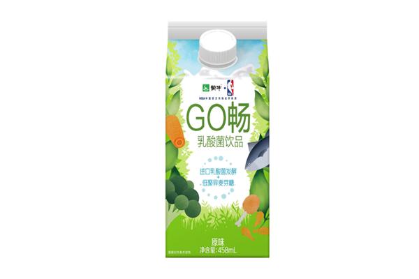 蒙牛Go畅乳酸菌饮品产品