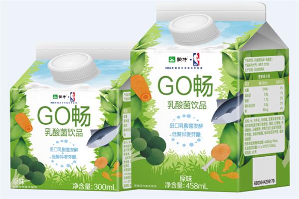 蒙牛Go畅乳酸菌饮品实物